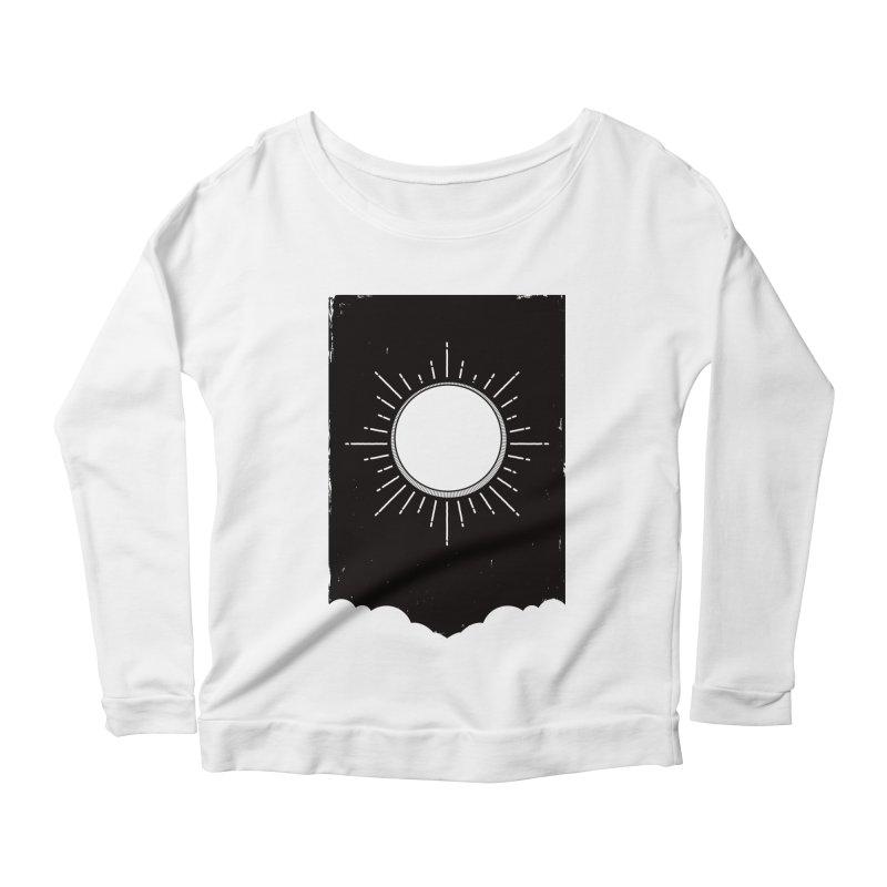 Shine Women's Scoop Neck Longsleeve T-Shirt by MidnightCoffee