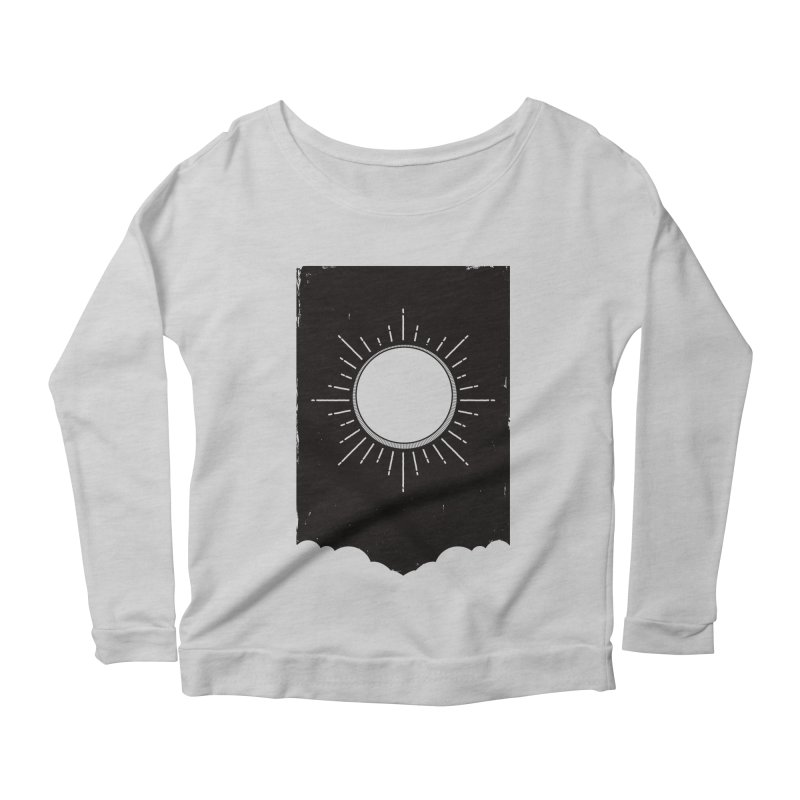 Shine Women's Longsleeve Scoopneck  by MidnightCoffee