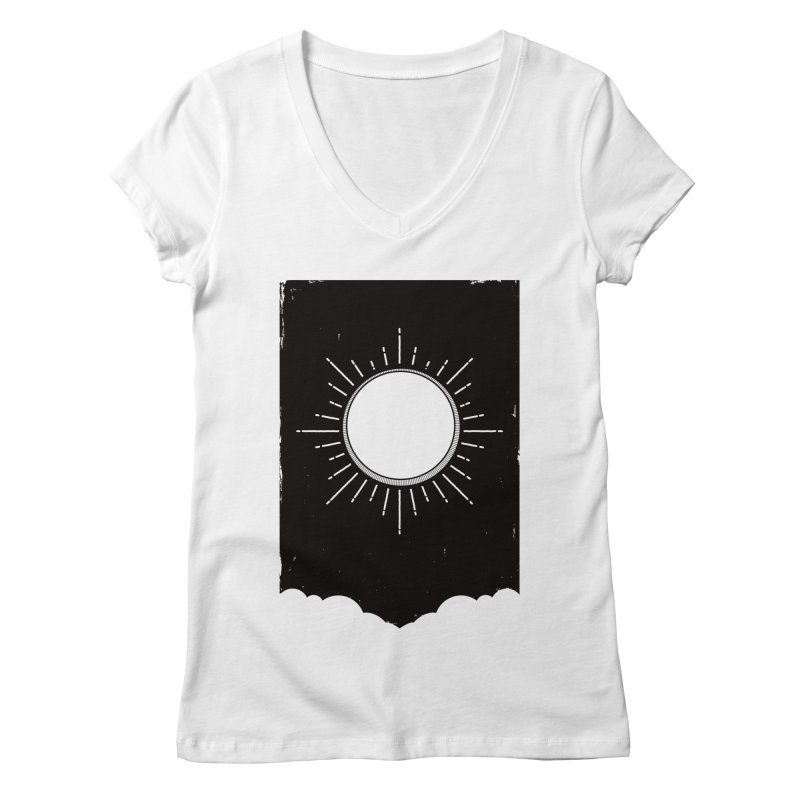 Shine Women's Regular V-Neck by MidnightCoffee