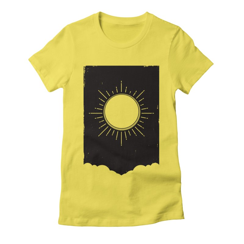 Shine Women's Fitted T-Shirt by MidnightCoffee