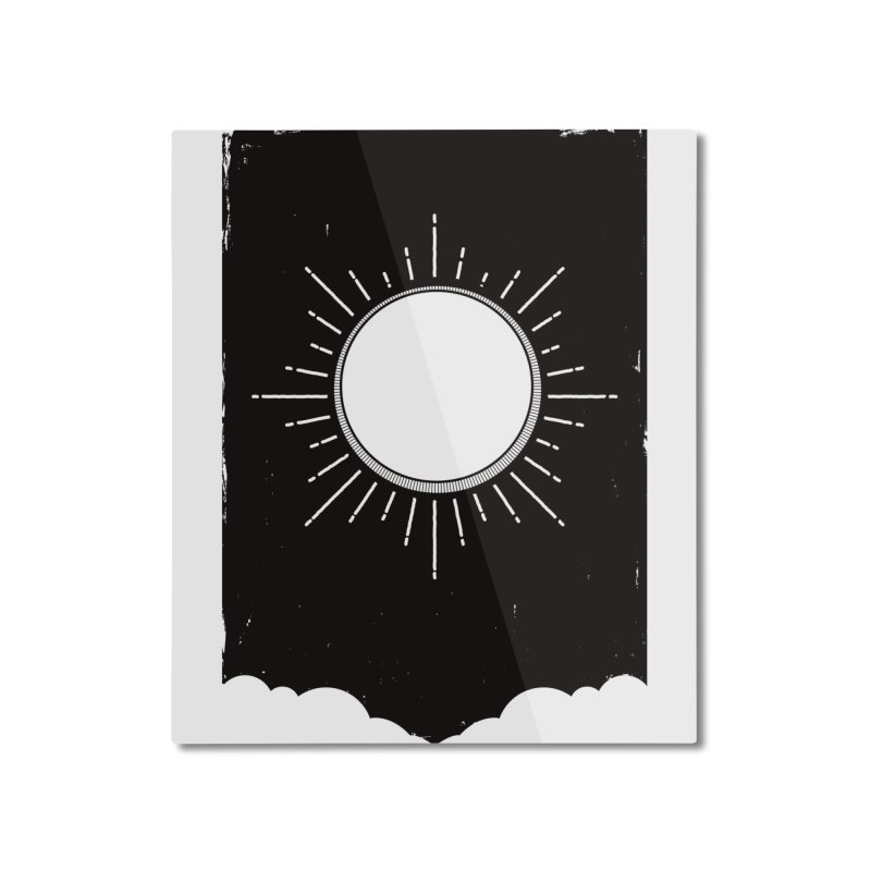 Shine Home Mounted Aluminum Print by MidnightCoffee