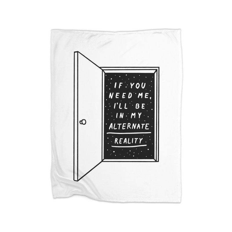 Alternate Reality Home Blanket by MidnightCoffee