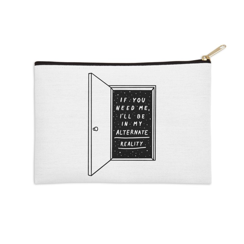Alternate Reality Accessories Zip Pouch by MidnightCoffee