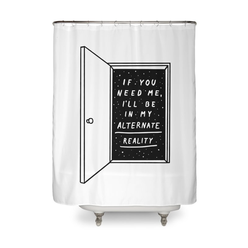 Alternate Reality Home Shower Curtain by MidnightCoffee