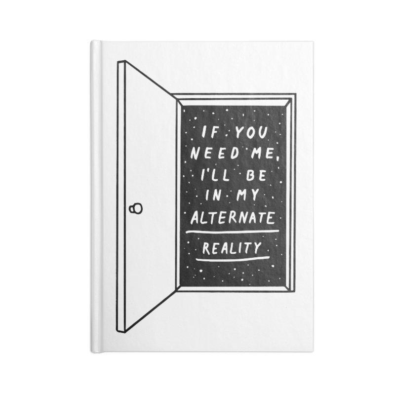 Alternate Reality in Blank Journal Notebook by MidnightCoffee