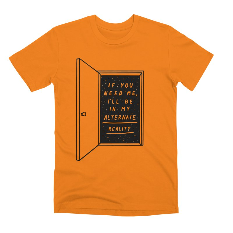 Alternate Reality Men's Premium T-Shirt by MidnightCoffee