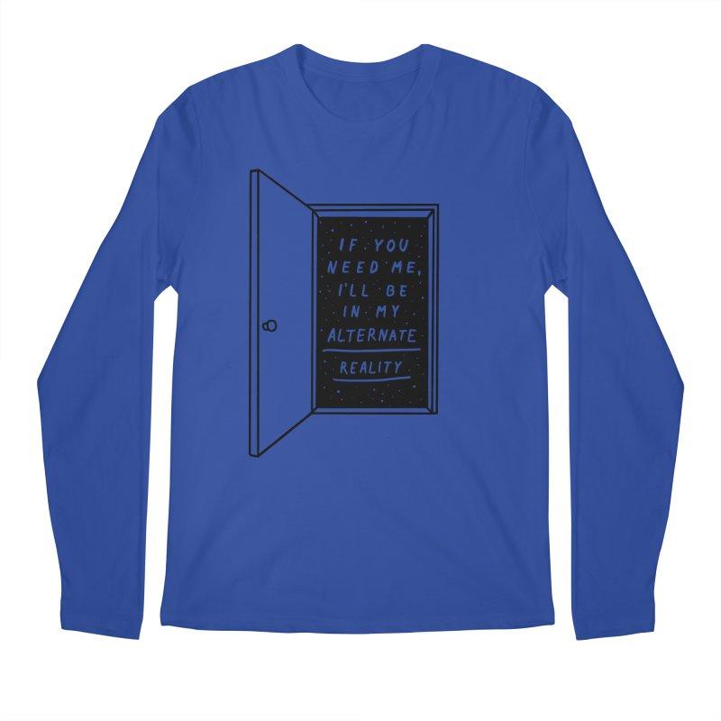 Alternate Reality Men's Longsleeve T-Shirt by MidnightCoffee