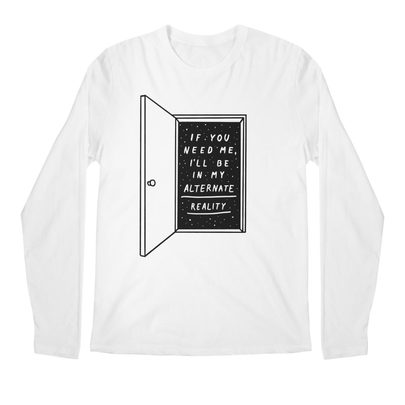 Alternate Reality Men's Regular Longsleeve T-Shirt by MidnightCoffee