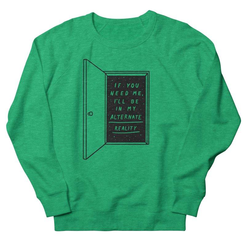 Alternate Reality Women's French Terry Sweatshirt by MidnightCoffee