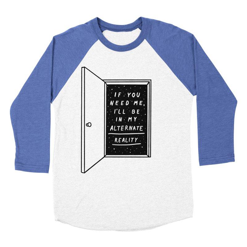 Alternate Reality Women's Baseball Triblend Longsleeve T-Shirt by MidnightCoffee