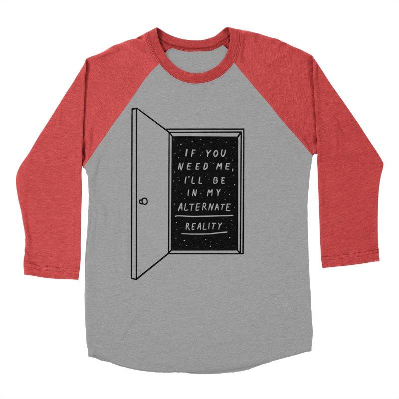 Alternate Reality Men's Baseball Triblend T-Shirt by MidnightCoffee