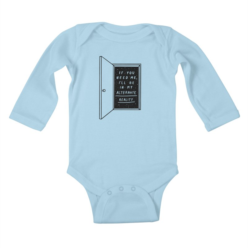 Alternate Reality Kids Baby Longsleeve Bodysuit by MidnightCoffee