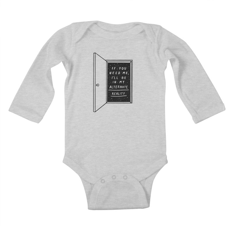 Alternate Reality Kids Baby Longsleeve Bodysuit by MidnightCoffee