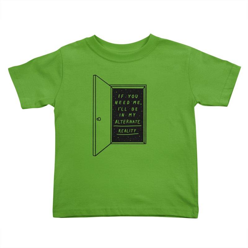 Alternate Reality Kids Toddler T-Shirt by MidnightCoffee
