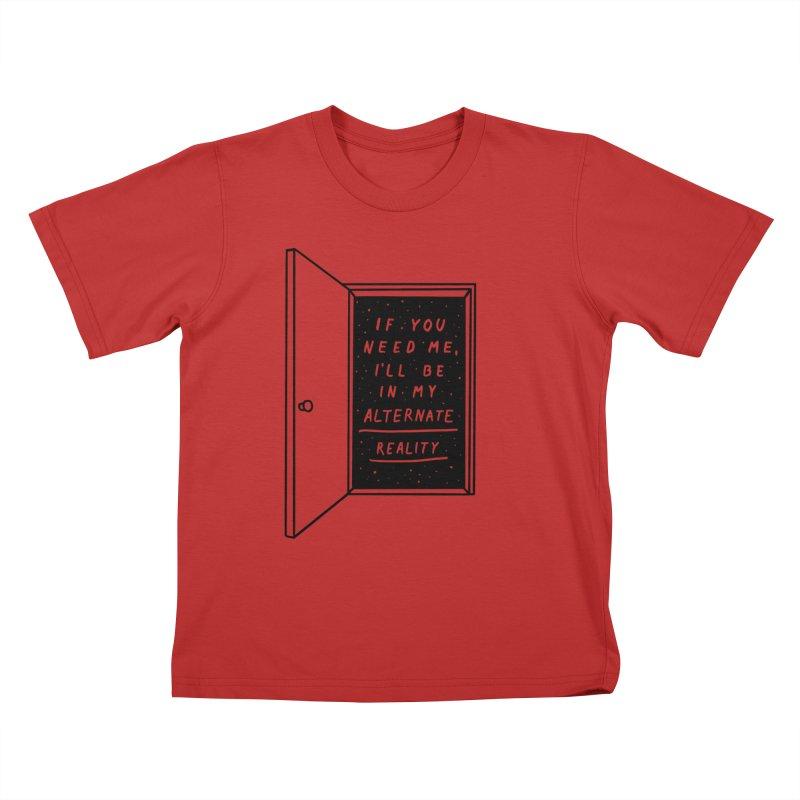 Alternate Reality Kids T-Shirt by MidnightCoffee