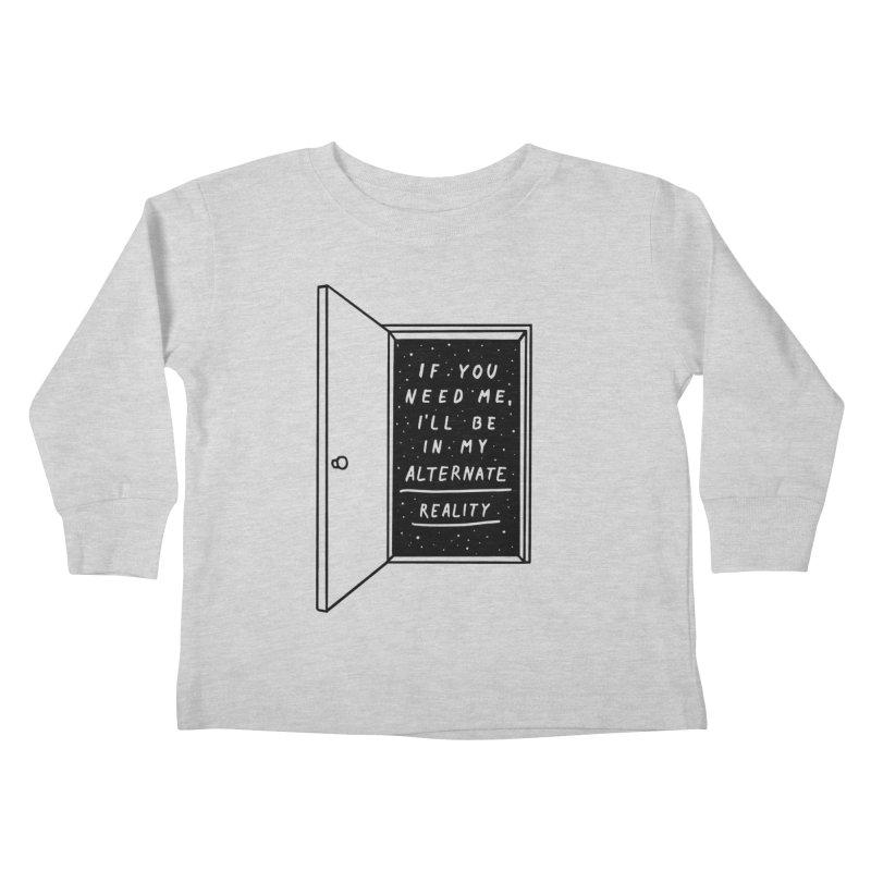 Alternate Reality Kids Toddler Longsleeve T-Shirt by MidnightCoffee