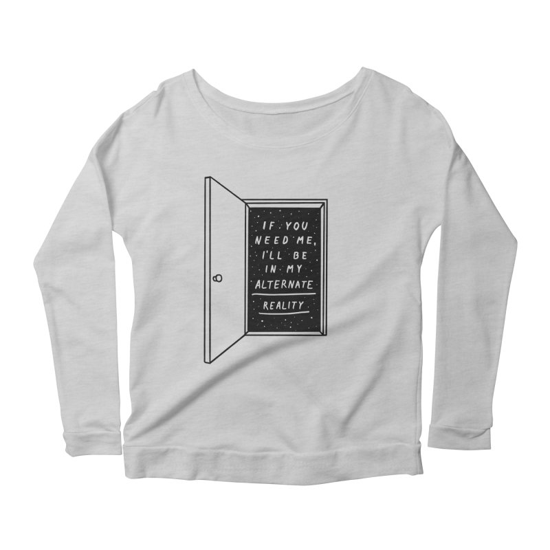 Alternate Reality Women's Scoop Neck Longsleeve T-Shirt by MidnightCoffee