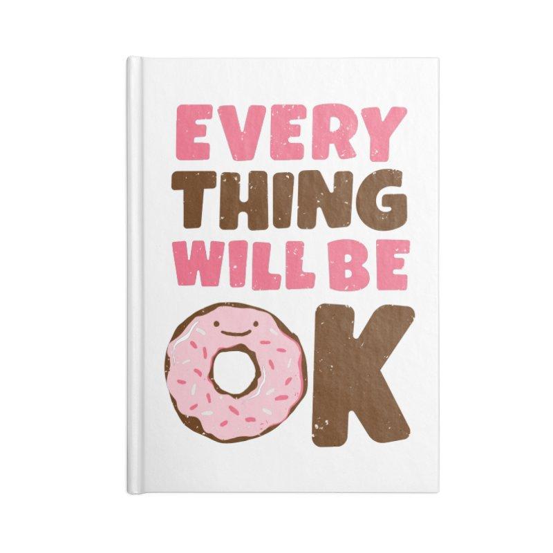 Sweet Relief Accessories Notebook by MidnightCoffee