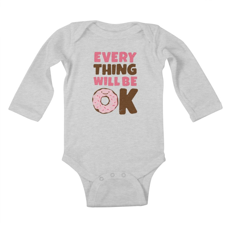 Sweet Relief Kids Baby Longsleeve Bodysuit by MidnightCoffee