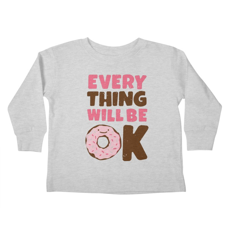 Sweet Relief Kids Toddler Longsleeve T-Shirt by MidnightCoffee