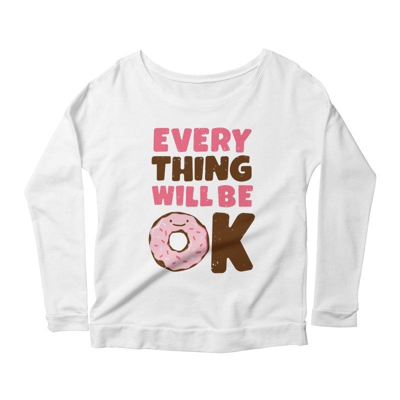 Sweet Relief Women's Scoop Neck Longsleeve T-Shirt by MidnightCoffee