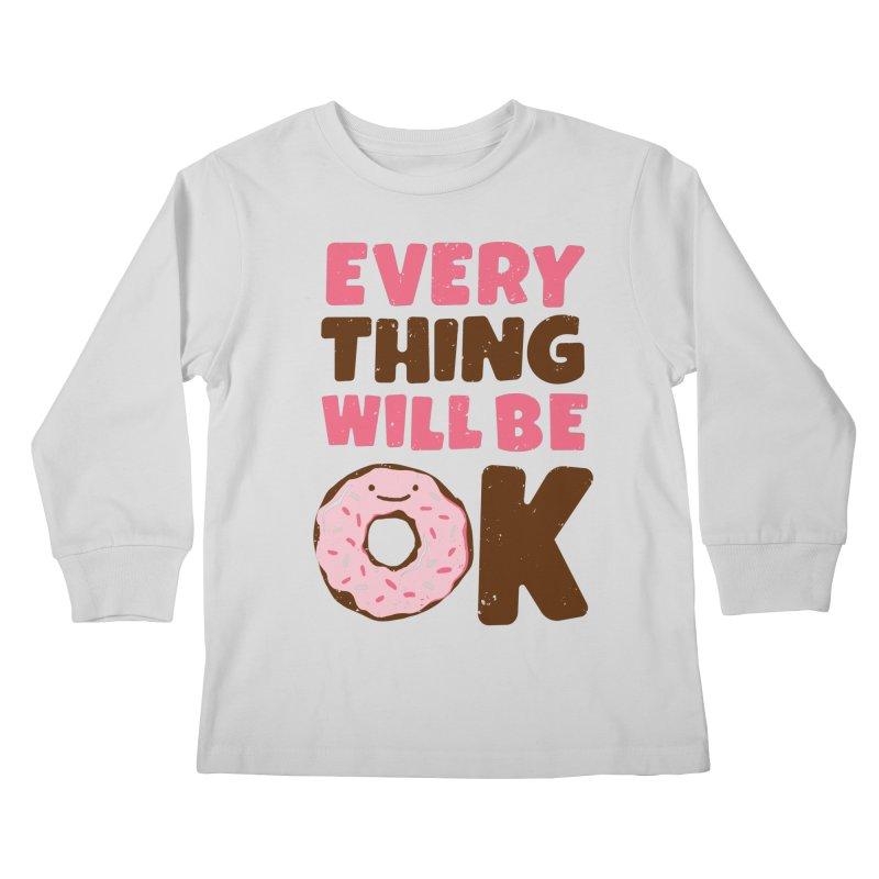 Sweet Relief Kids Longsleeve T-Shirt by MidnightCoffee