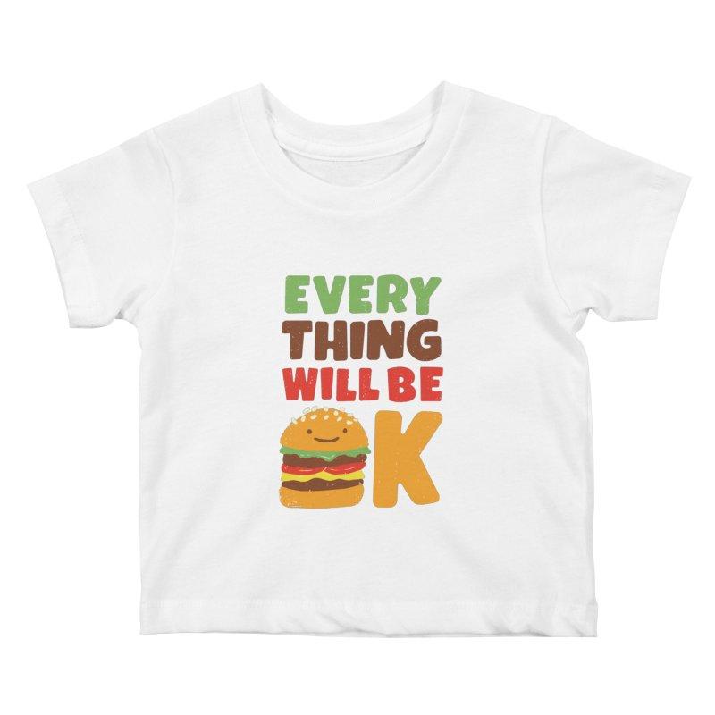 Feed Your Feelings Kids Baby T-Shirt by MidnightCoffee