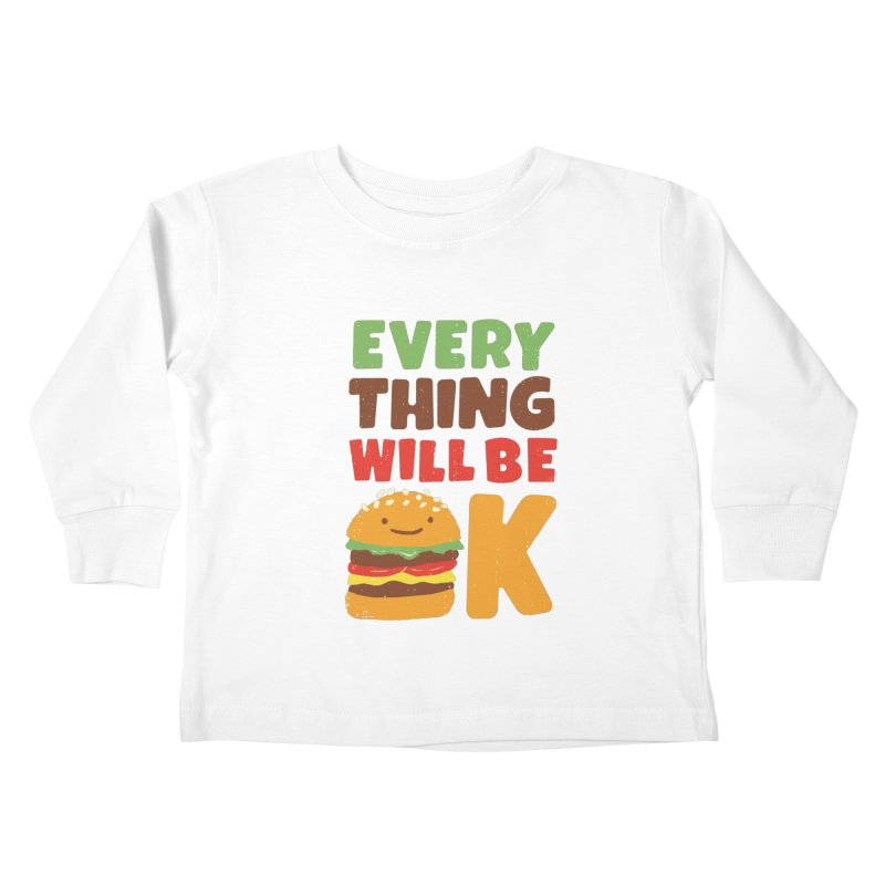 Feed Your Feelings Kids Toddler Longsleeve T-Shirt by MidnightCoffee