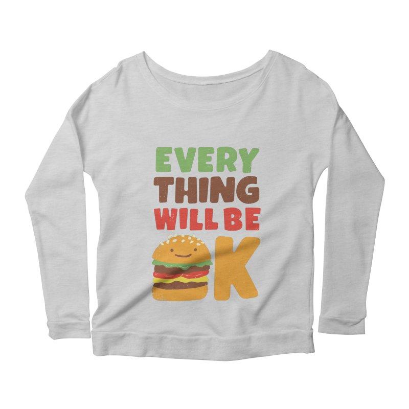 Feed Your Feelings Women's Scoop Neck Longsleeve T-Shirt by MidnightCoffee