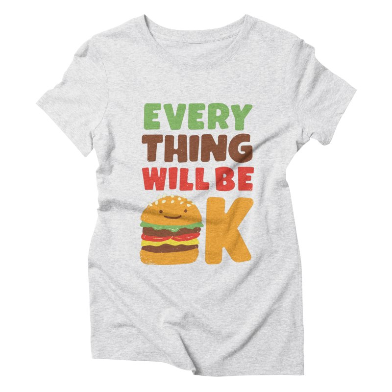 Feed Your Feelings Women's Triblend T-Shirt by MidnightCoffee