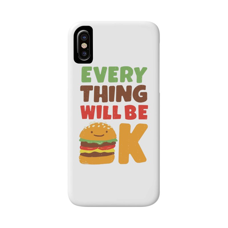 Feed Your Feelings Accessories Phone Case by MidnightCoffee