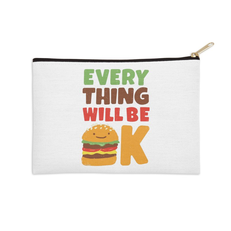 Feed Your Feelings Accessories Zip Pouch by MidnightCoffee