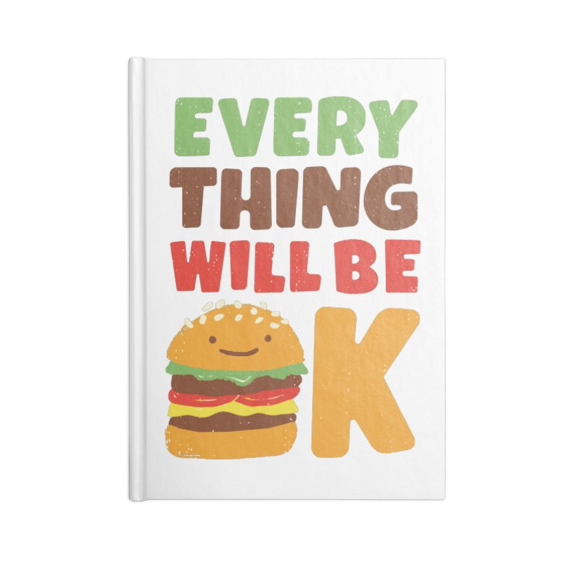 Feed Your Feelings Accessories Notebook by MidnightCoffee