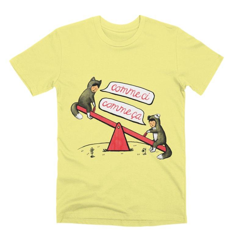 Seesaw Life Men's Premium T-Shirt by MidnightCoffee