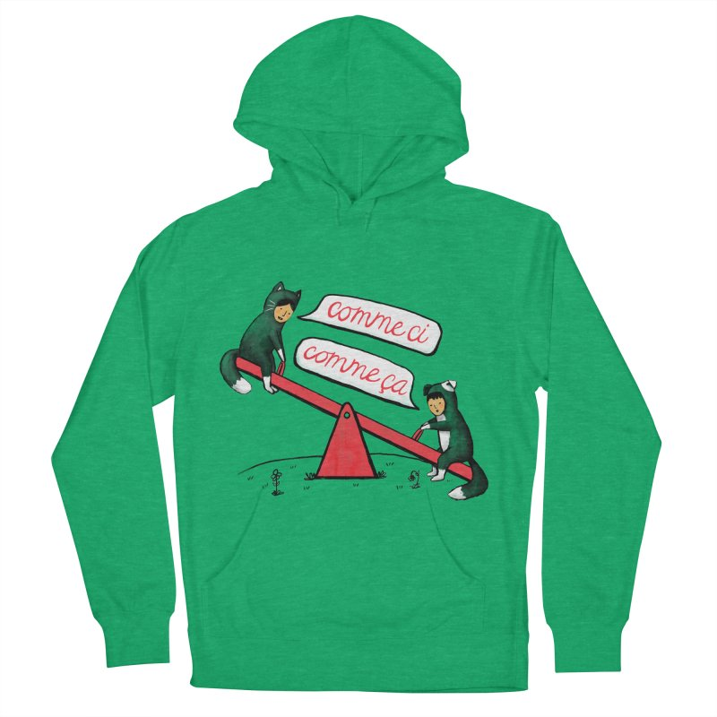 Seesaw Life Women's French Terry Pullover Hoody by MidnightCoffee