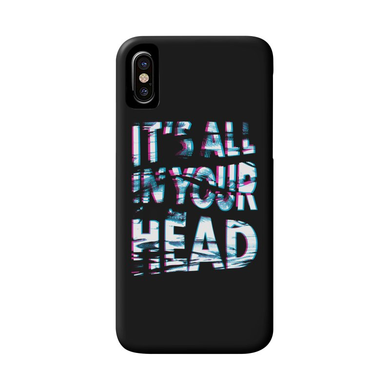 In Your Head Accessories Phone Case by MidnightCoffee