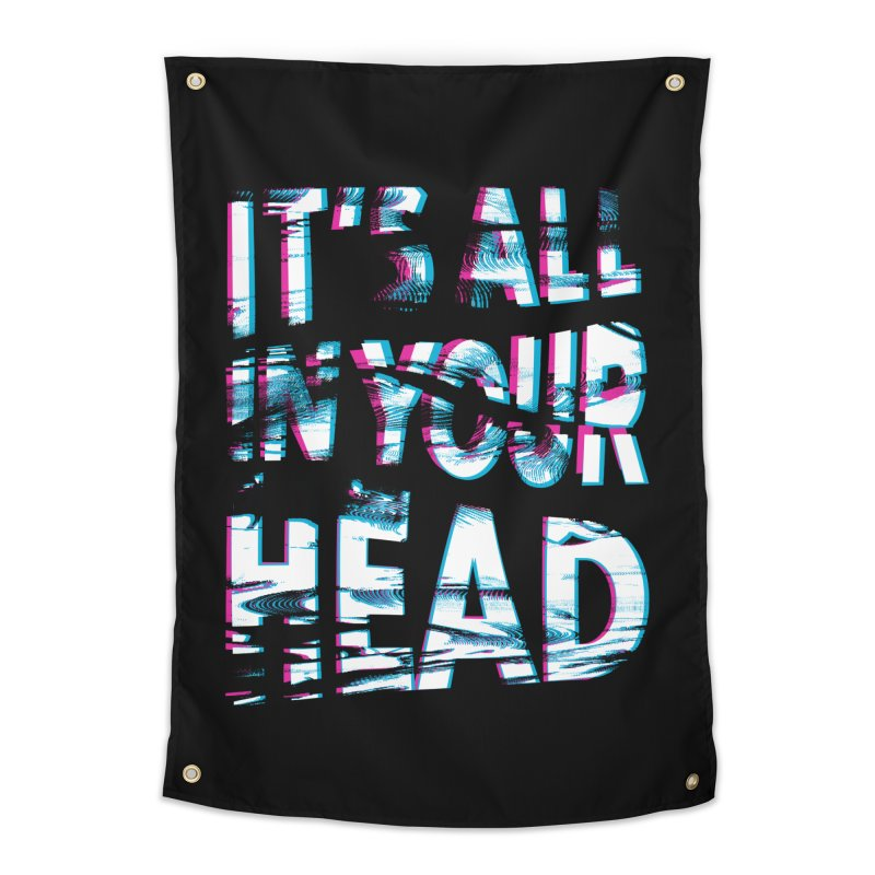 In Your Head Home Tapestry by MidnightCoffee