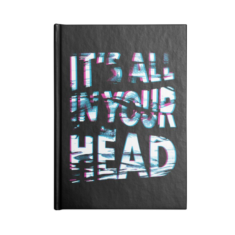 In Your Head Accessories Notebook by MidnightCoffee