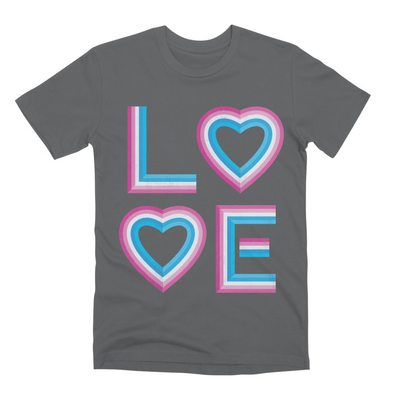 LOVE Men's Premium T-Shirt by MidnightCoffee