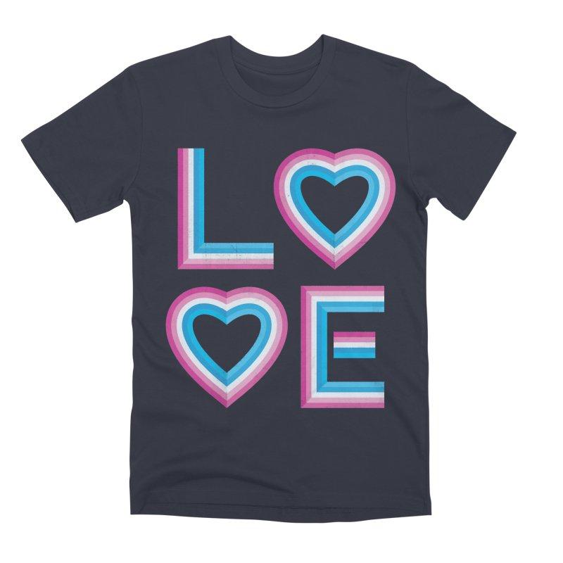 LOVE Men's Premium T-Shirt by MidnightCoffee