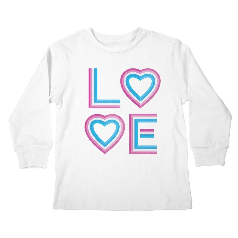 LOVE Kids Longsleeve T-Shirt by MidnightCoffee
