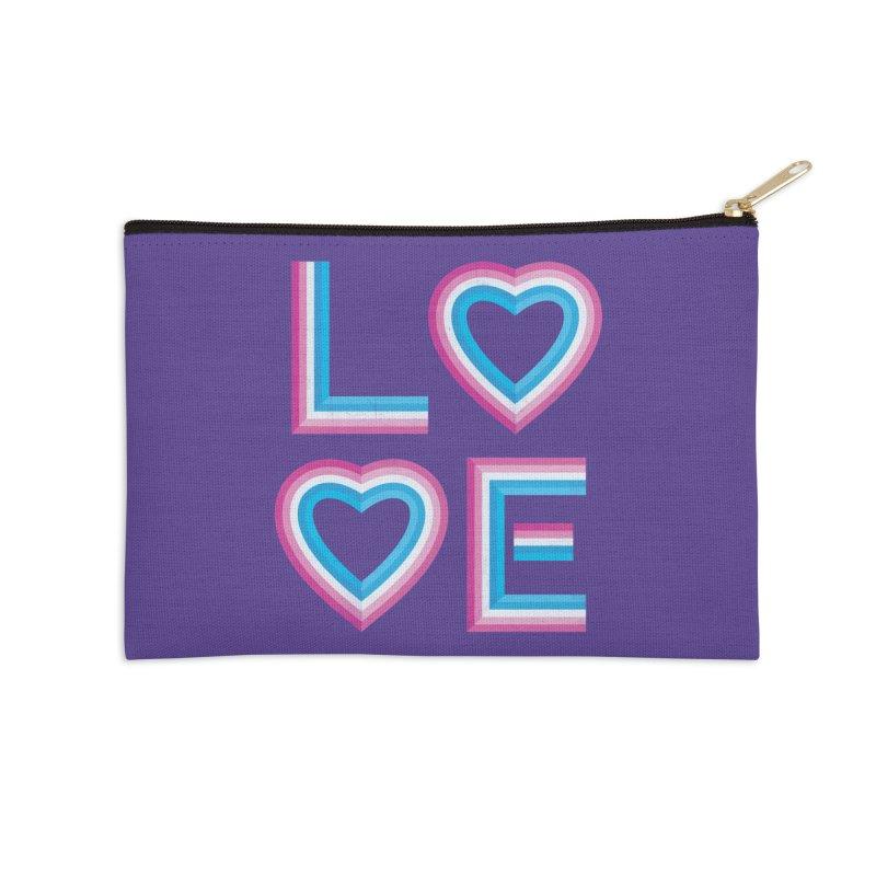 LOVE Accessories Zip Pouch by MidnightCoffee