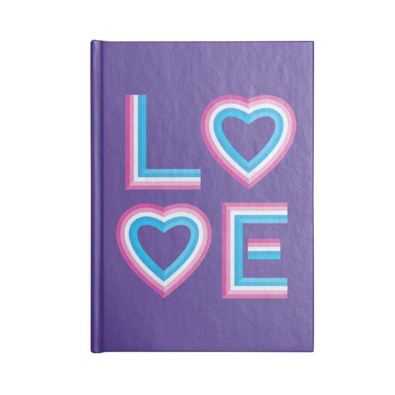 LOVE Accessories Notebook by MidnightCoffee
