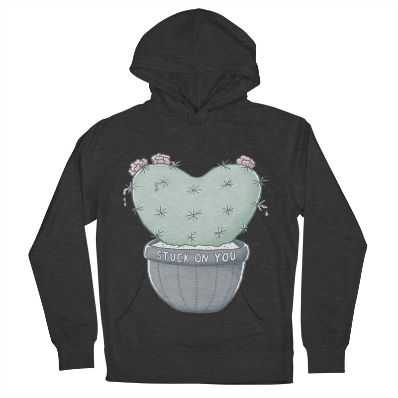 Love Hurts Women's French Terry Pullover Hoody by MidnightCoffee