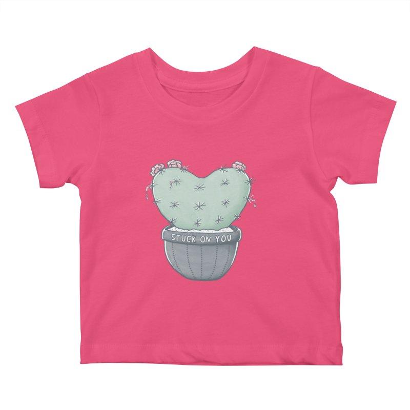 Love Hurts Kids Baby T-Shirt by MidnightCoffee