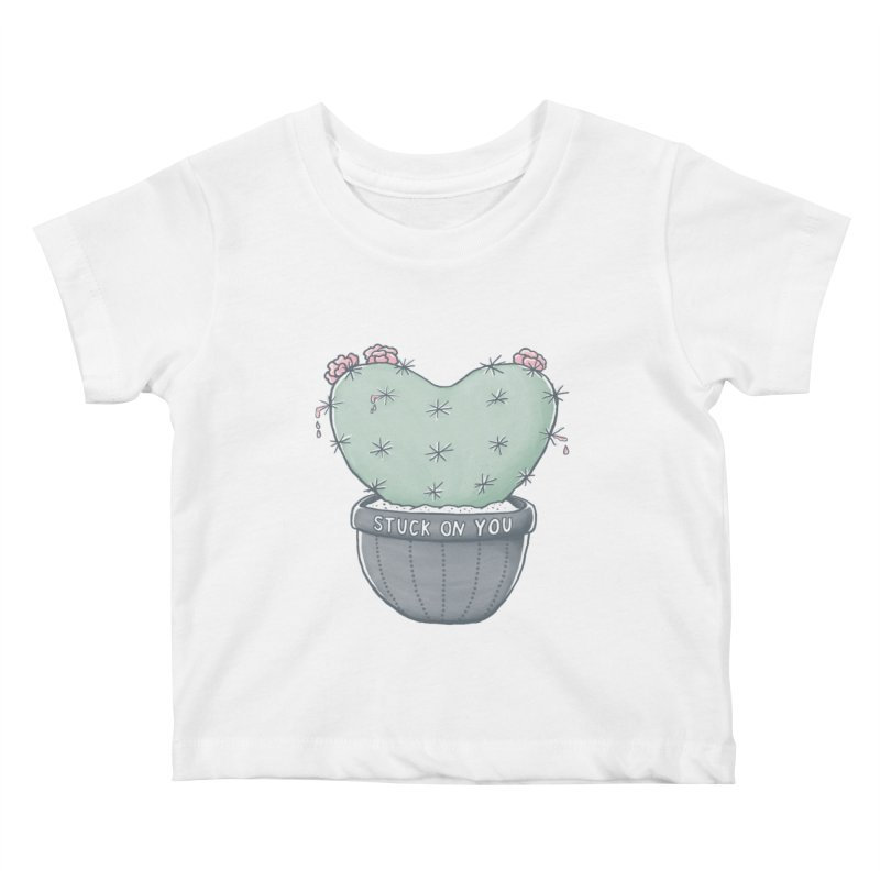 Love Hurts Kids Baby T-Shirt by MidnightCoffee