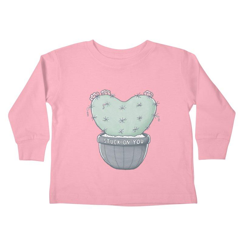 Love Hurts Kids Toddler Longsleeve T-Shirt by MidnightCoffee