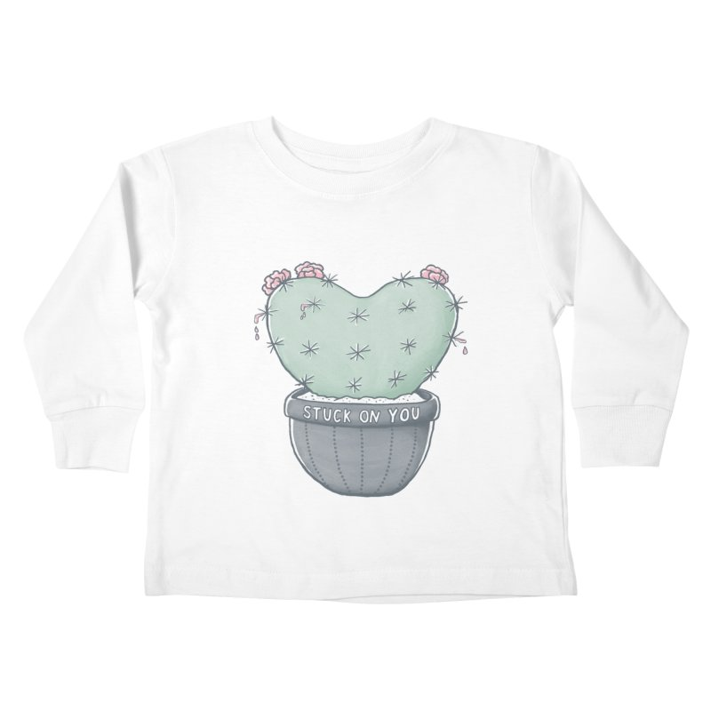 Love Hurts Kids Toddler Longsleeve T-Shirt by MidnightCoffee