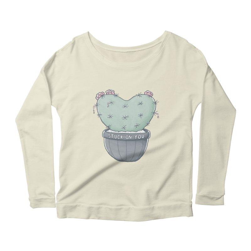 Love Hurts Women's Scoop Neck Longsleeve T-Shirt by MidnightCoffee