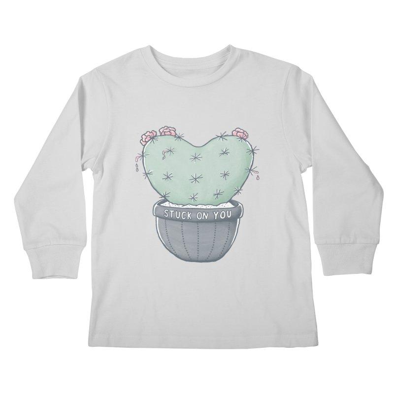Love Hurts Kids Longsleeve T-Shirt by MidnightCoffee